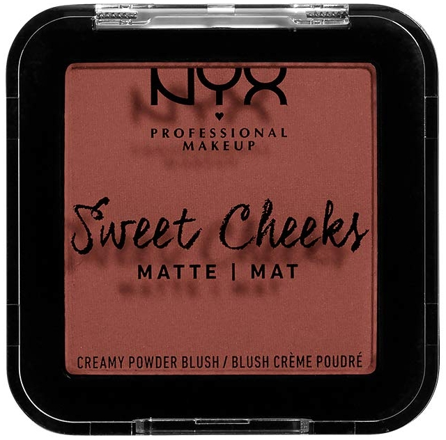 Матов руж за лице - NYX Professional Makeup Sweet Cheeks Matte Blush