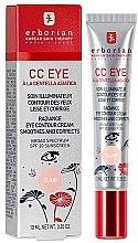 Парфюмерия и Козметика Erborian Finish CC Eye Cream - Околоочен СС крем
