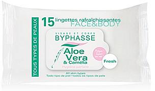 Почистващи кърпички за лице и тяло - Byphasse Face & Body Wipes — снимка N1
