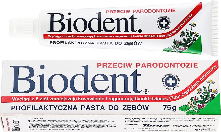 Паста за зъби-пародонтит - Biodent