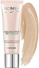 Парфюмерия и Козметика BB крем - Biotherm Aquasource BB Cream SPF 15 (тестер)