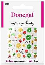 Парфюмерия и Козметика Декориращи лепенки за нокти, 3699 - Donegal