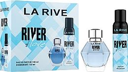 Парфюмерия и Козметика La Rive River Of Love - Комплект (парф. вода/100ml + дезод./150ml)