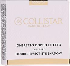 Парфюмерия и Козметика Сенки - Collistar Double Effect Eye-Shadow Wet & Dry