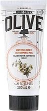 """Парфюми, Парфюмерия, козметика Мляко за тяло """"Мед"""" - Korres Pure Greek Olive Honey Body Milk"""