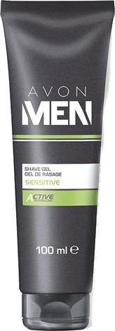 """Гел за бръснене """"Мека активна грижа """" - Avon Men — снимка N1"""