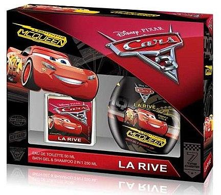 La Rive Cars - Комплект (тоал. вода/50 + душ гел/250ml) — снимка N1