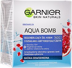 Парфюми, Парфюмерия, козметика Крем-гел за лице - Garnier Aqua Bomb Night Cream