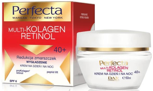 Крем за лице с ретинол - Dax Cosmetics Perfecta Multi-Collagen Retinol Face Cream 40+