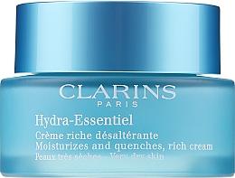 Парфюмерия и Козметика Овлажняващ крем за суха кожа - Clarins Hydra-Essentiel Rich Cream