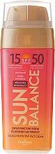 """Парфюми, Парфюмерия, козметика Слънцезащитен крем за лице """"Двойна защита"""" - Farmona Sun Balance Cream SPF50"""