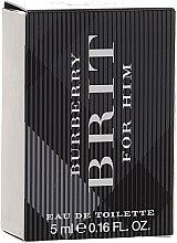 Burberry Brit for men - Тоалетна вода ( мини )  — снимка N1