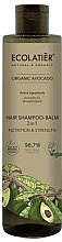 Парфюмерия и Козметика Шампоан-балсам за коса 2 в 1 - Ecolatier Organic Avocado Hair-Shampoo Balm