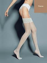 """Парфюмерия и Козметика Дълги дамски чорапи """"Calze Mary"""" 15 Den, visone - Veneziana"""