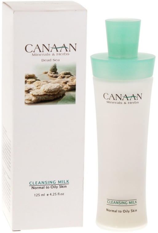 Почистващо мляко за нормална и мазна кожа - Canaan Minerals & Herbs Cleansing Milk Normal to Oily Skin — снимка N1