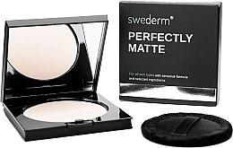 Парфюмерия и Козметика Матираща пудра за лице - Swederm Perfectly Matte Powder