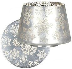 Парфюмерия и Козметика Плафон за свещи и поставка - Yankee Candle Snowflake Frost Large