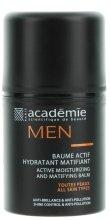 Парфюми, Парфюмерия, козметика Активно овлажняващ и матиращ балсам - Academie Men Active Moist & Matifying Balm
