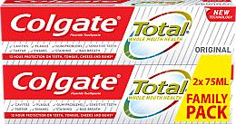 Парфюми, Парфюмерия, козметика Паста за зъби - Colgate Total Original Toothpaste Duopack
