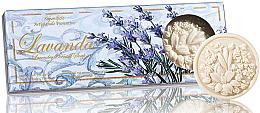 Парфюми, Парфюмерия, козметика Комплект сапуни с аромат на лавандула - Saponificio Artigianale Fiorentino Lavender Soap