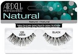 Парфюмерия и Козметика Изкуствени мигли - Ardell Natural Lashes Demi Black 120