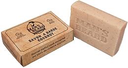 Парфюмерия и Козметика Ексфолиращ кокосов сапун за брада - Man's Beard Savon Exfoliant Coconut Soap