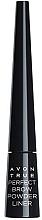Парфюмерия и Козметика Прахообразни сенки за вежди с апликатор - Avon True Perfect Brow Powder Liner