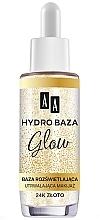 Парфюмерия и Козметика Фиксираща база за грим - AA Hydro Baza Glow