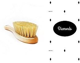 Парфюми, Парфюмерия, козметика Комплект за деца - LullaLove Romby (четка за коса + муселинова кърпа)