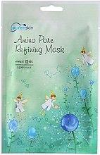 Парфюми, Парфюмерия, козметика Памучна маска за лице на основа на аминокиселини - Purenskin Amino Pore Refining Mask