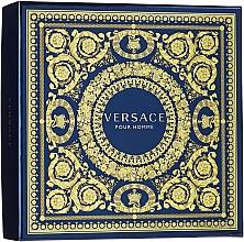 Парфюмерия и Козметика Versace Pour Homme - Комплект (тоал. вода/30ml + душ гел/50ml)