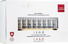 Парфюмерия и Козметика Лосион-концентрат на ампули за възстановяване на растежа на косата при мъже - Crescina HFSC Re-Growth 1300