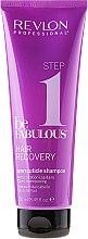 Парфюми, Парфюмерия, козметика Почистващ шампоан с ефект на отваряне на кутикула - Revlon Professional Be Fabulous Hair Recovery Shampoo