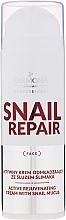 Парфюмерия и Козметика Активен подмладяващ крем за лице със секрет от охлюв - Farmona Professional Snail Repair Active Rejuvenating Cream With Snail Mucus