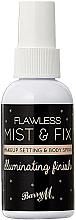Парфюмерия и Козметика Фиксиращ спрей за грим - Barry M Flawless Mist & Fix Makeup Setting Spray