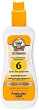 Парфюмерия и Козметика Слънцезащитен спрей-гел - Australian Gold Body Spray Gel SPF6