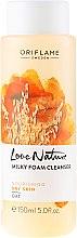 """Парфюми, Парфюмерия, козметика Измиваща пяна """"Овес"""" - Oriflame Love Nature Milky Foam Cleanser"""