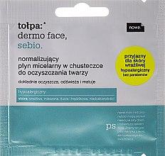Парфюми, Парфюмерия, козметика Почистващи кърпички за лице с мицеларна вода - Tolpa Dermo Face Napkin with Cleansing Micellar Water