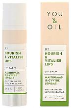 Парфюмерия и Козметика Подхранващ балсам за устни - You & Oil Nourish & Vitalise Lip Balm