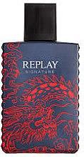 Парфюми, Парфюмерия, козметика Signature Replay Signature Red Dragon - Тоалетна вода (тестер без капачка)