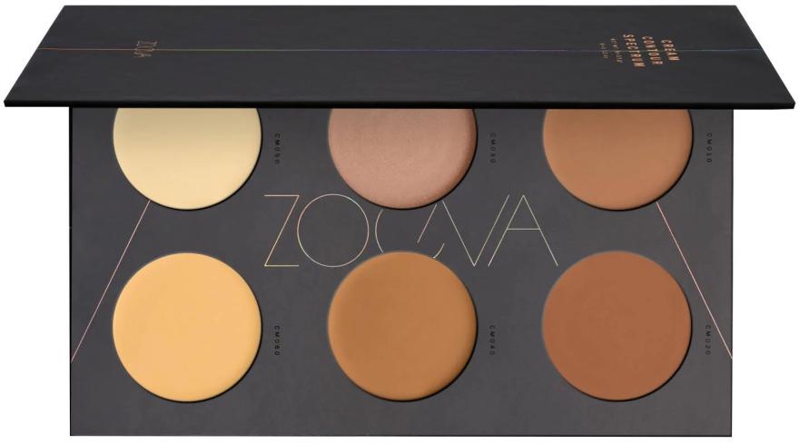 Палитра с кремообразни контури - Zoeva Cream Contour Spectrum Palette — снимка N1