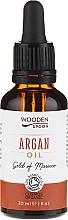 Парфюмерия и Козметика Арганово масло - Wooden Spoon 100% Pure Argan Oil