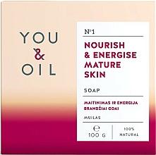 Парфюмерия и Козметика Подхранващ сапун за старееща кожа - You & Oil Nourish & Energise Mature Skin