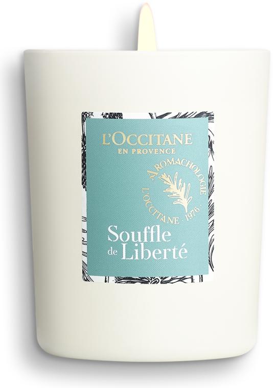 Възстановяваща ароматна свещ - L'Occitane Revitalizing Candle Breath Of Freedom — снимка N3