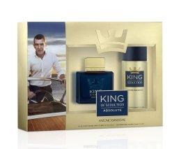 Парфюми, Парфюмерия, козметика Antonio Banderas King of Seduction Absolute - Комплект (edt 100ml + deo 150ml)