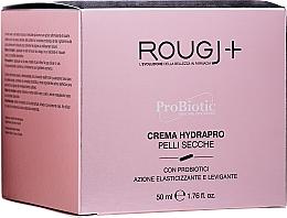 Парфюмерия и Козметика Хидратиращ крем за лице за суха кожа - Rougj+ ProBiotic Crema Hydrapro
