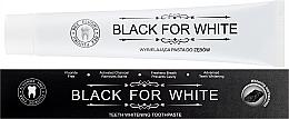 Парфюмерия и Козметика Паста за зъби с активен въглен - Biomika Black For White Teeth Paste