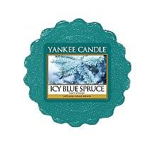 Парфюмерия и Козметика Ароматен восък - Yankee Candle Icy Blue Spruce Wax Tart