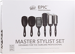 Парфюмерия и Козметика Комплект четки за коса - Wet Brush Epic Professional (h/brush/6pcs)