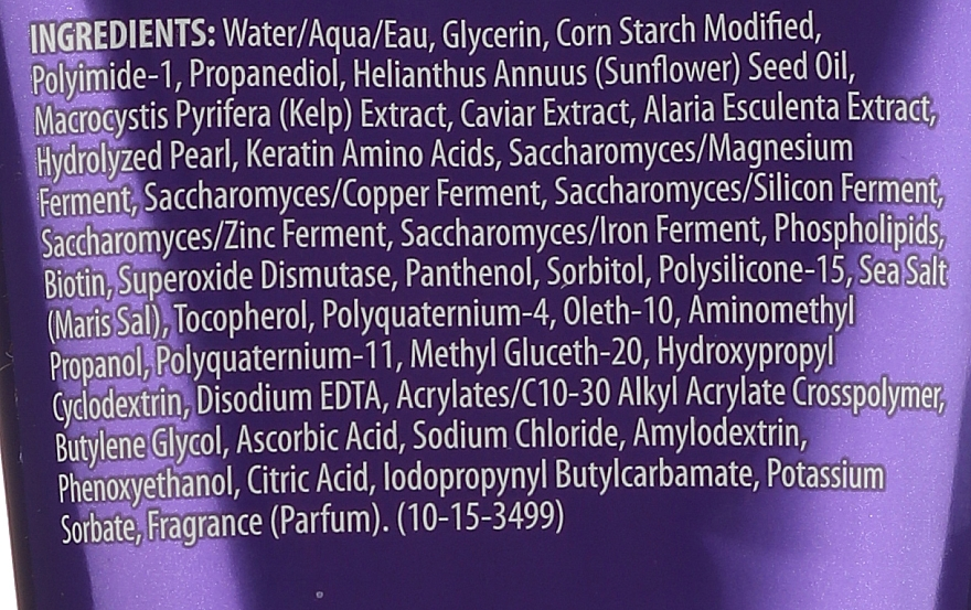 Моделиращ крем-гел за придаване на блясък на косата с екстракт от черен хайвер - Alterna Caviar Style Luxe Shape Versatile Creme Gel — снимка N3